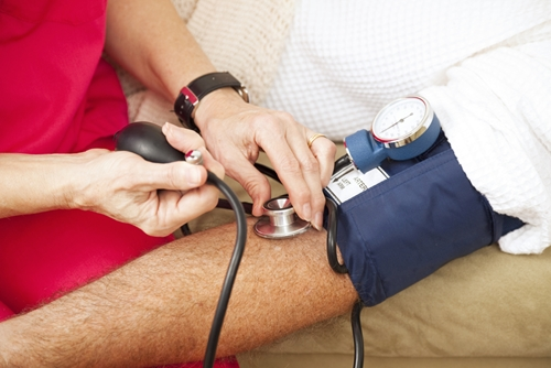 It's vital for high-risk patients to receive annual blood pressure screenings.